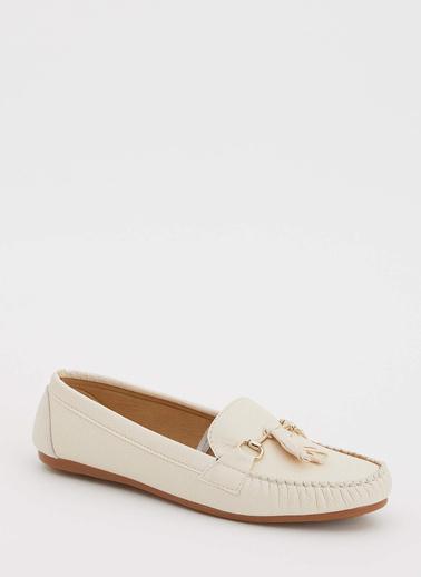 DeFacto Loafer Ayakkabı Bej